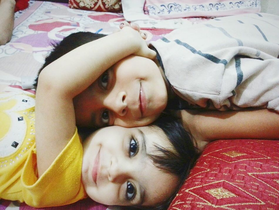 Mykids Loveboth Sisterbrother:-)