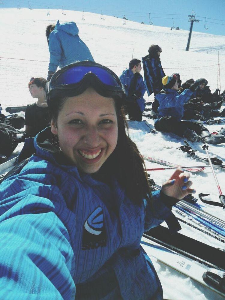 Selfie Nieve Bariloche, Argentina ?? 2012 Egresados SnowTravel