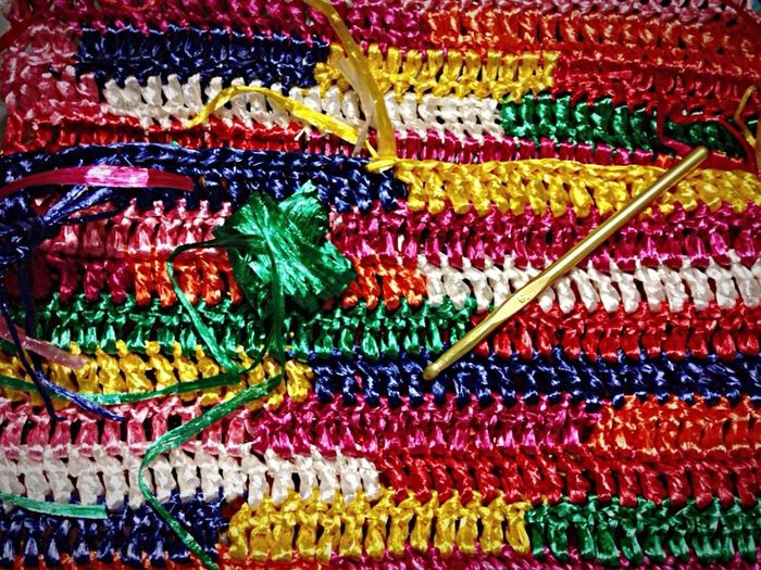 Backpacks Newproject That's Me Raffia Colors Rainbow Texture Positive Style