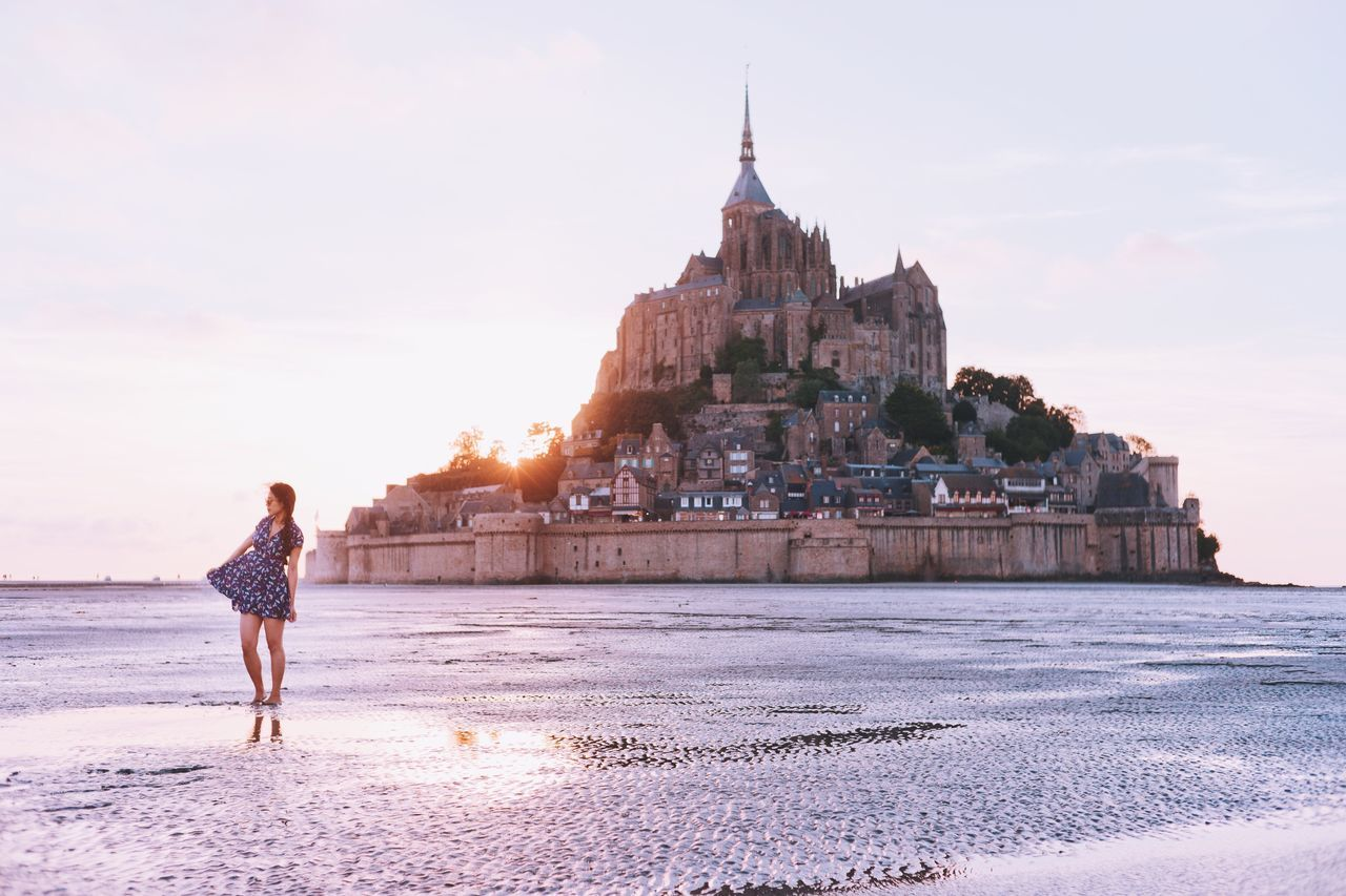 The Magic Mission Magic Hour Magical Moments France 🇫🇷 Normandy Travel Destinations Travel Photography Sunset_collection Dreamy