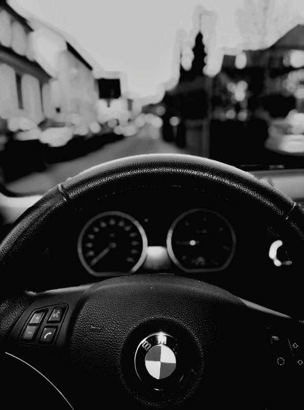 Bmw Love Black & White After Focus Pro Bookeh 118d Car