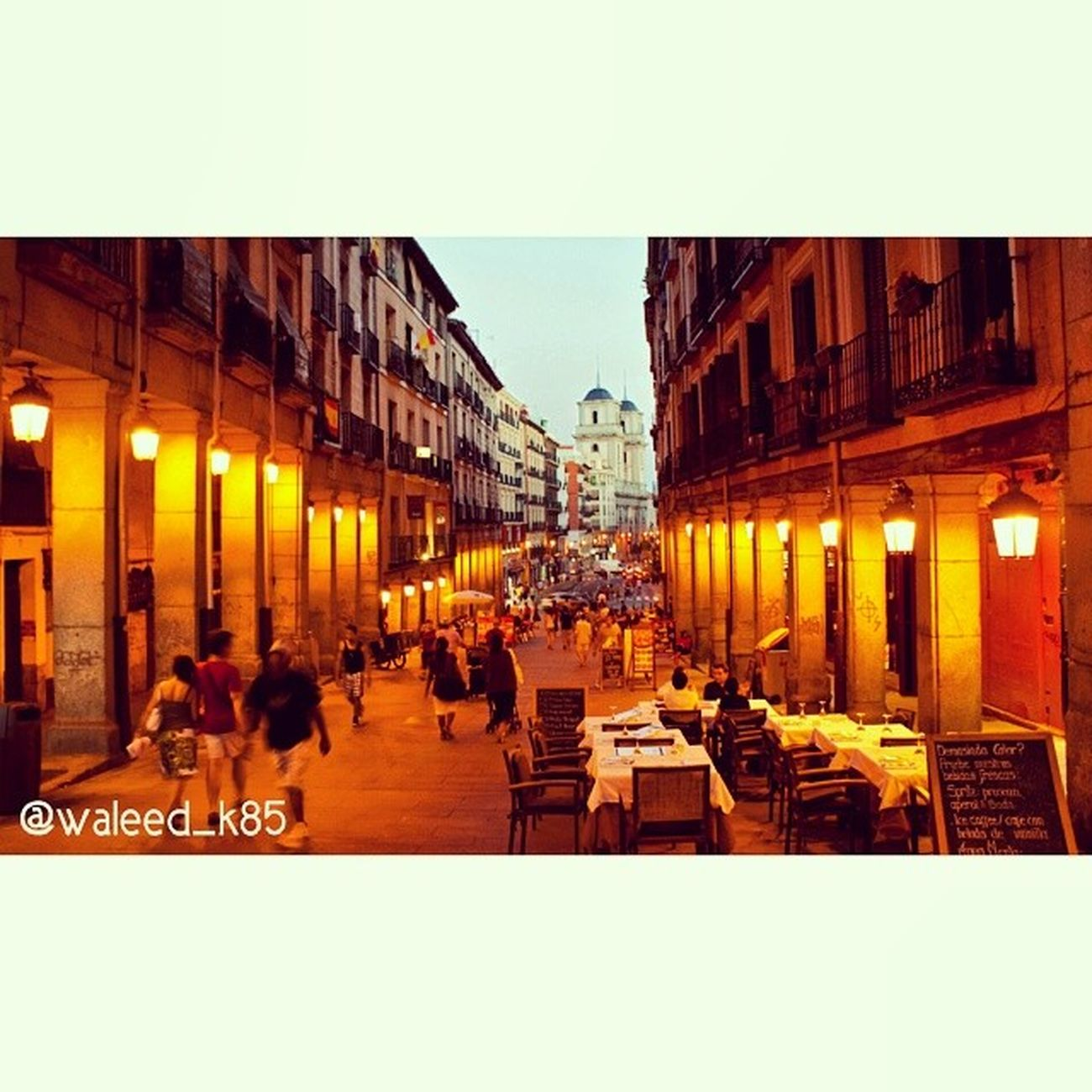 Calle Toledo Calletoledo near Plazamayor plaza_mayor. Madrid Spain españa. Taken by my sonyalpha dslr a200. Taken in my 2010 summer trip مدريد اسبانيا حي