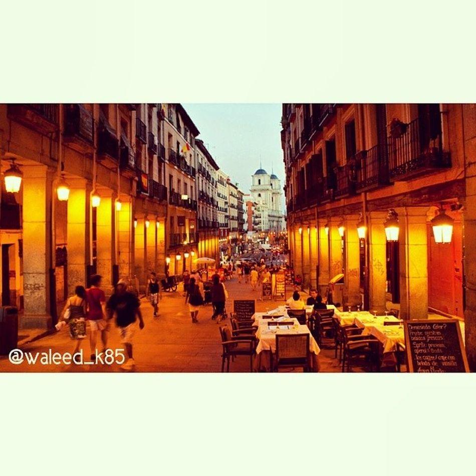 Calle Toledo Calletoledo near Plazamayor plaza_mayor. Madrid Spain españa. Taken by my sonyalpha dslr a200. Taken in my 2010 summer trip مدريد اسبانيا حي