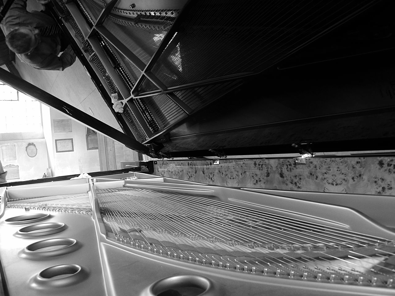 Inside a piano Piano From My Point Of View The Best From Holiday POV Getting Inspired Music Sound Of Life Shades Of Grey B&w Travel London_only