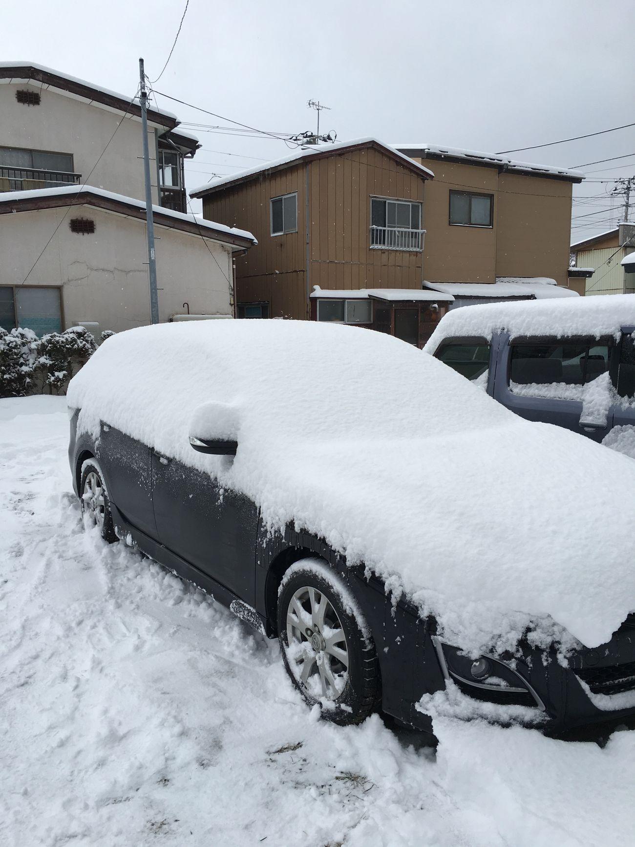 The Drive Winter Snow Mazda Car Winter