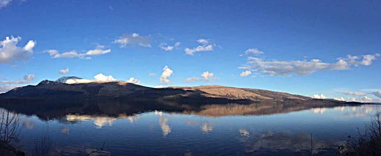 Loch Lomond Loch  LochLomond Beauty In Nature Nature Panorama Panoramic Photography Panoramic Landscape Water Tranquil Scene Outdoors Landscape Something Beautiful Tranquility Peace And Quiet Mountains