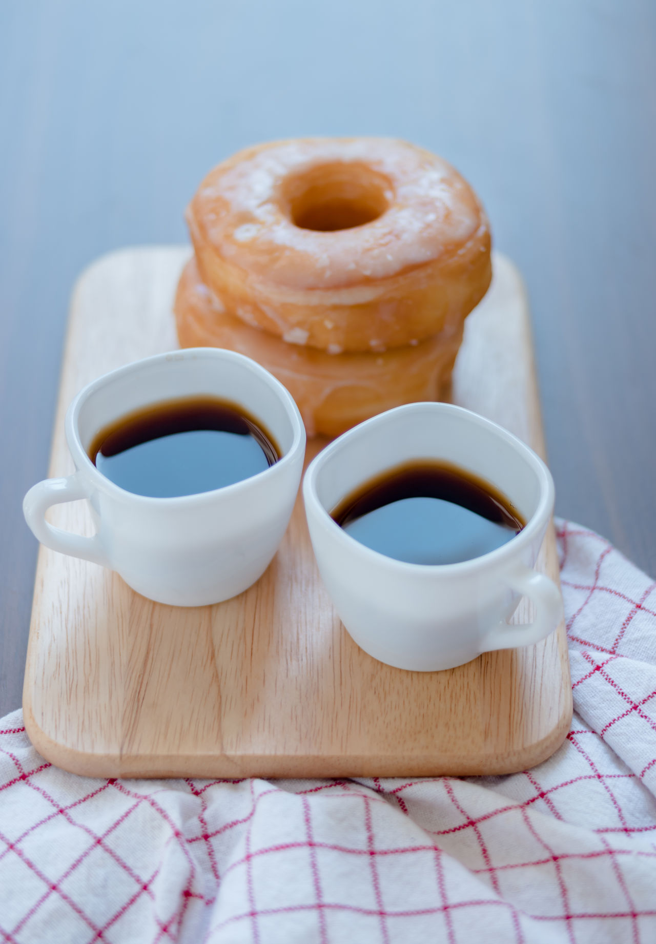Black Coffee Close-up Coffee Coffee Cup Coffee Time Day Dessert Doughnuts Food Food And Drink Freshness Hot Drink Indoors  No People Ready-to-eat Refreshment Refreshment Soft Doughnut Still Life Sweet Food Table