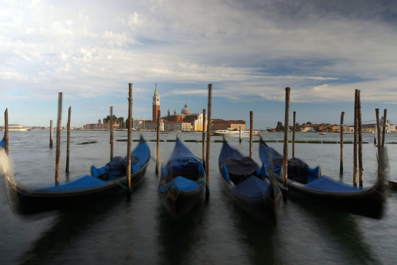 2 San Giorgo Architecture Building Exterior City Cultures Day Gondola - Traditional Boat Nature Near Piazetta Di San Marco No People Outdoors Sea Sky Water
