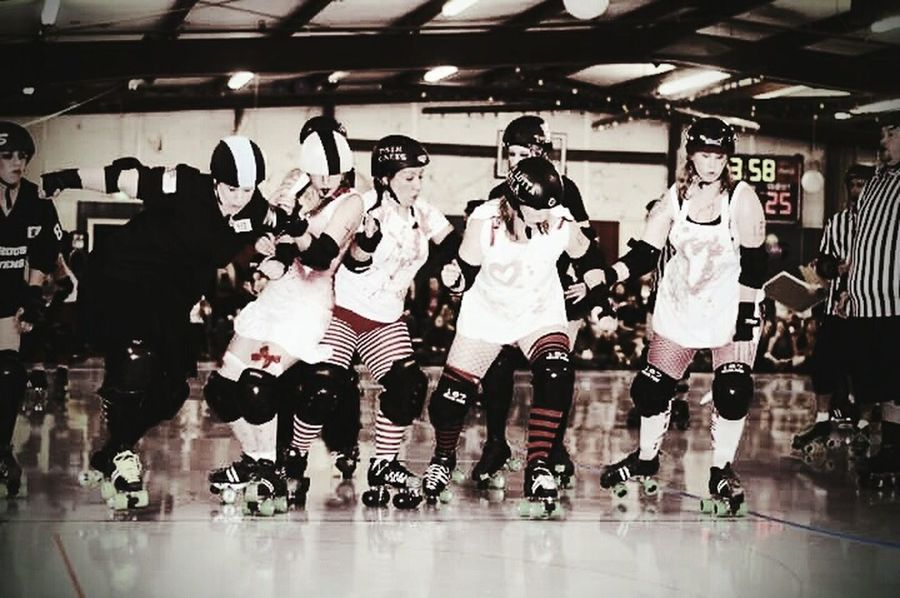 me. Rollerderby THESE Are My Friends Eyeemsports Enjoying Life Live, Love, Laugh EyeEm Team Sharedmoments Strong Women Me Time!  Roller Skating