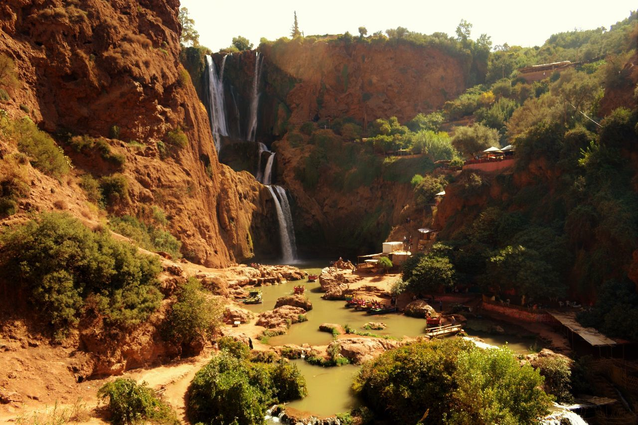 Beauty In Nature Maroc Marocco Nature Ouzoud Falls Tranquility Travel Water Waterfall Waterfalls