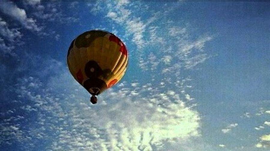 Taking Photos ВоздушныйШар небо⛅️ небо облака Hot Air Balloons Sky Clouds Eye4photography  EyeEm Gallery