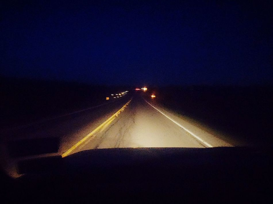 The long way home :( Taking Photos I Love The Night Hope And Dream Taking Photos Highway Life Is A Highway
