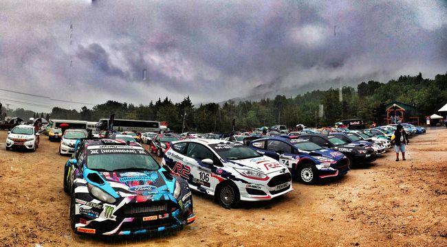 Rally New England Forest Rally Rally Race Car Cars Ford Fiesta Rain Dirt Rally Car Helloworld