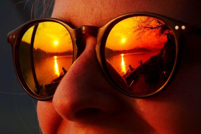 Reflection Sunglasses Sunglasses At Night Sunglass  Sunset_collection Sunset Sunsets Red Notfakecolours Notfake Luangprabang Luang Prabang Louangphabang Mekongriversunset