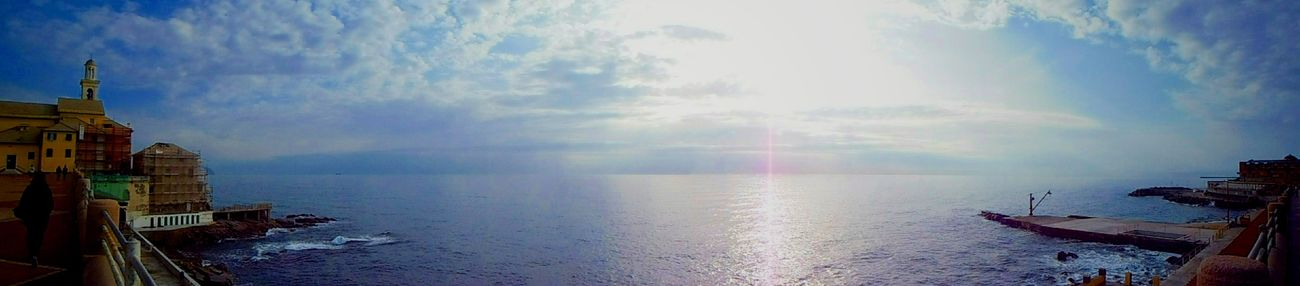 Panoramic Photography Seascape Wonderful Day