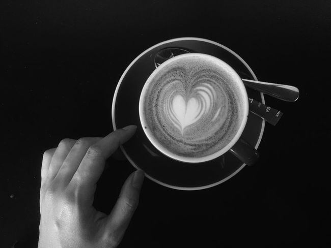 Drinking A Latte | Open Edit | Blackandwhite