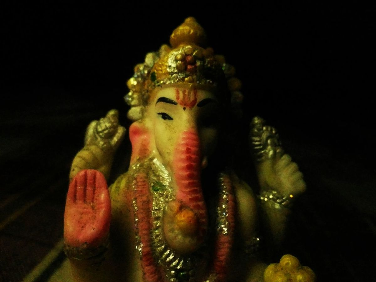 Jai Ganesh ji Hinduism Hindu Gods India Hinduism, Hindu, Ganesha GaneshChaturthi Ganeshfestival Ganesha Idols Ganesha Visarjan Black Background Ganesha Lord Of Success Ganeshotsav God's Beauty Gods Idols Colours Of India Arts Culture And Entertainment