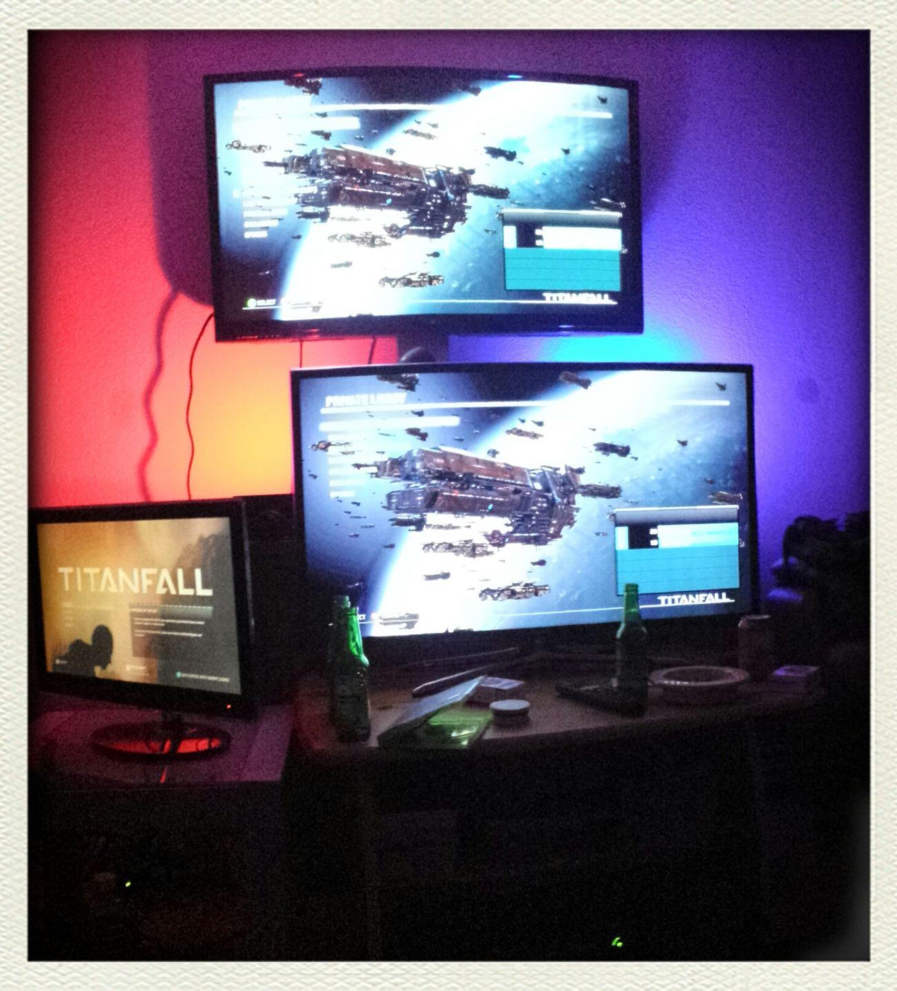 Titanfall is on! Titanfall Xbox 360 Nerd :)