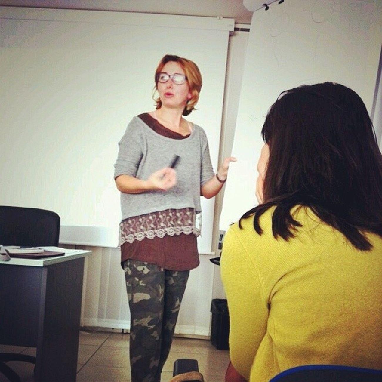 @fra_vola in action, il suo corso di comunicazione vivida ė ganzissimo! Elba Storytelling