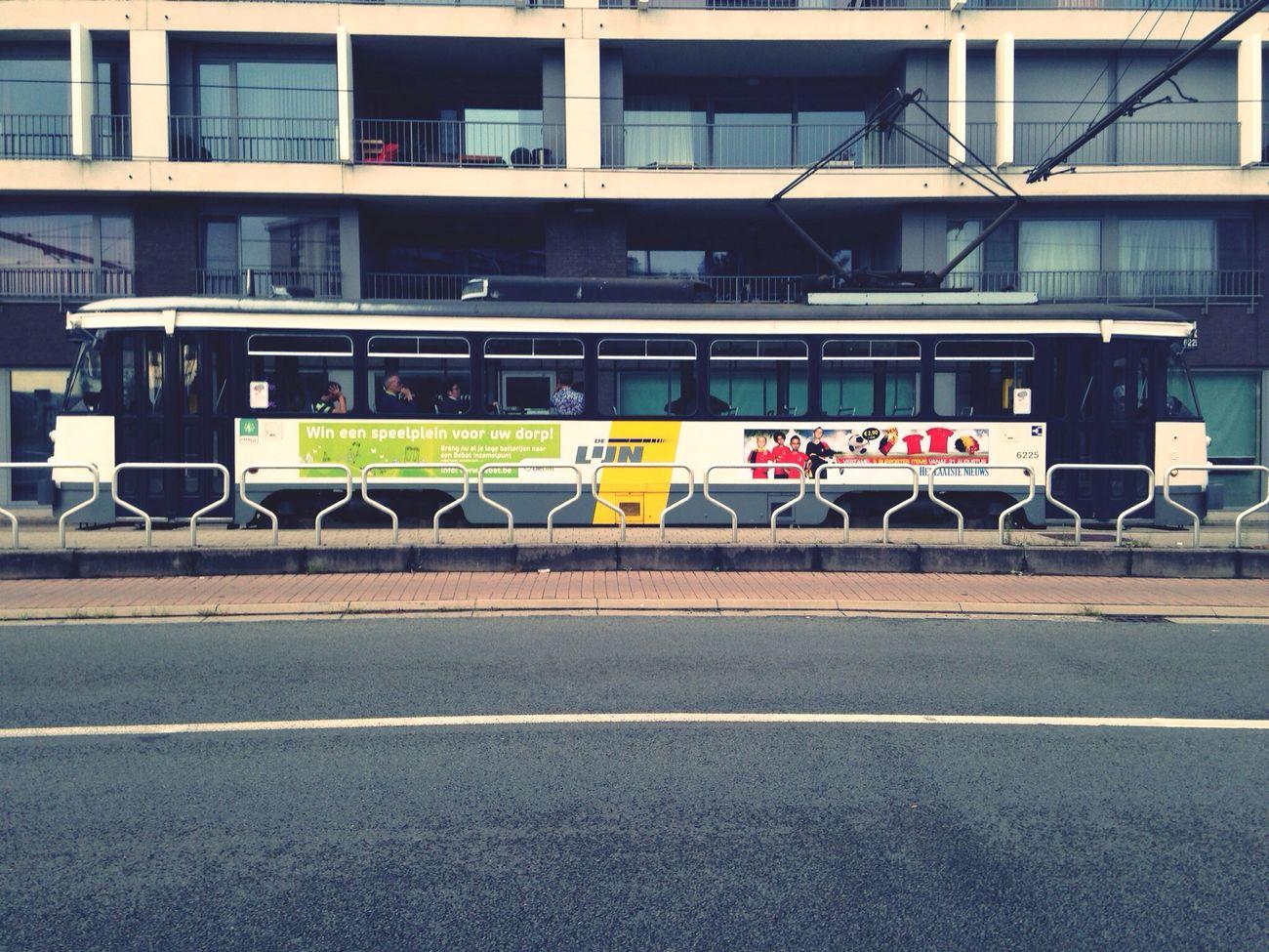 Ghent Tram Public Transportation