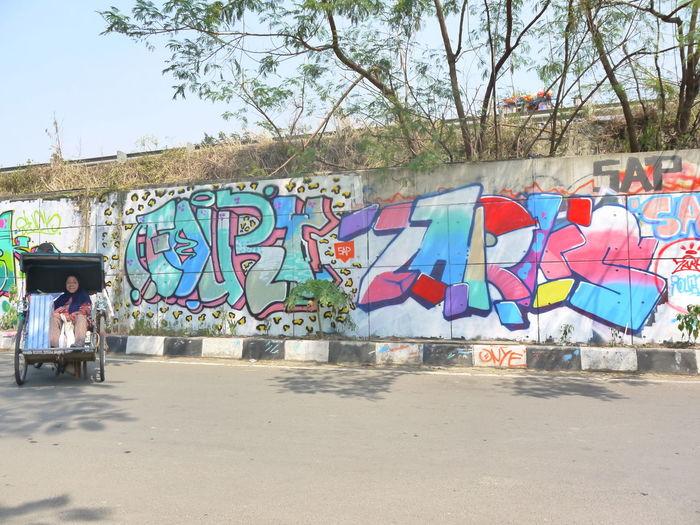 Here Belongs To Me Urban Graffiti Becak Bekasi