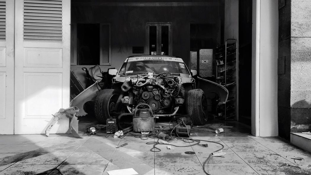 Forever a project. Car 2jz Project Car Drift E30  Bmw IPhoneography Garage Day