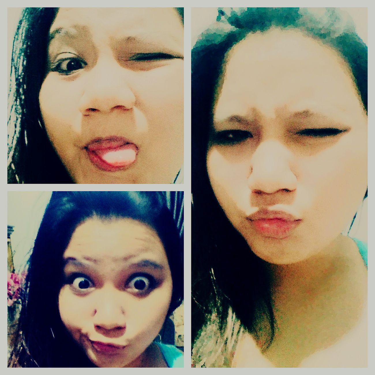 Self Potrait Haironfleek Selfportrait Winkyface Weirdography Weirdselfie Weirdfaces Natural Hair