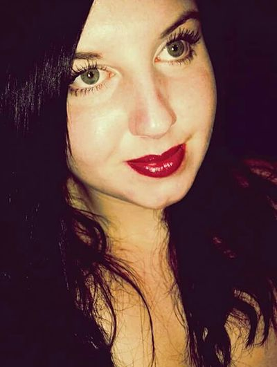 Just Smile  JustMe(:  Green Eyes Red Lips