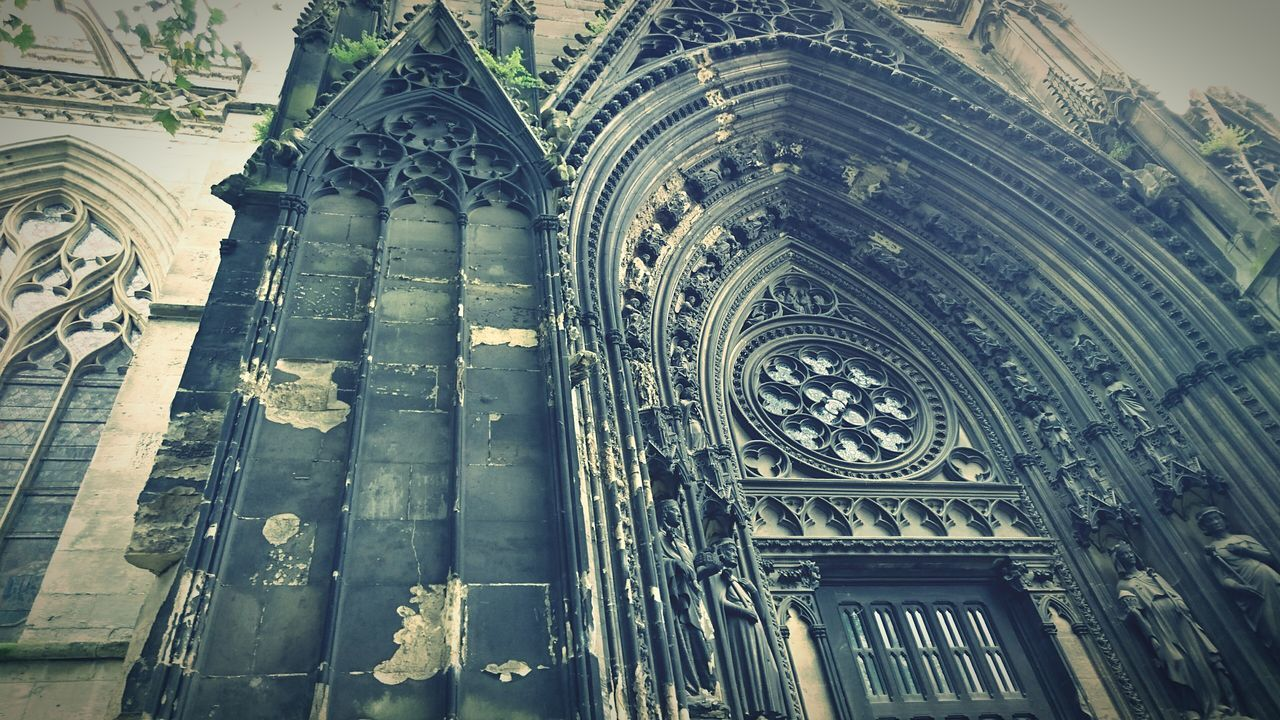 Catheral Saint Ouen, Rouen, France , Lines & Curves, Gothic Architecture