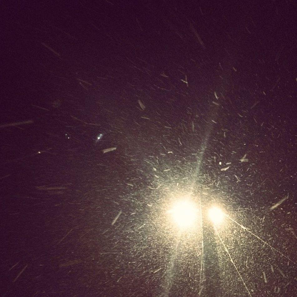 es Schneit in Leipzig Snow Cold finallywinter