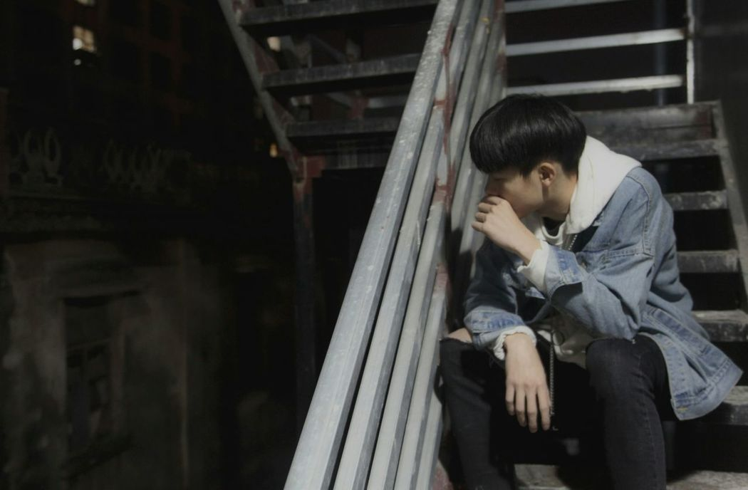 Loneliness Despair Sadness Teenager Worried Depression - Sadness Disappointment Young Adult One Person City Adult Women Nostalgia City Life Sulking People Defeat Staircase Outdoors Adults Only