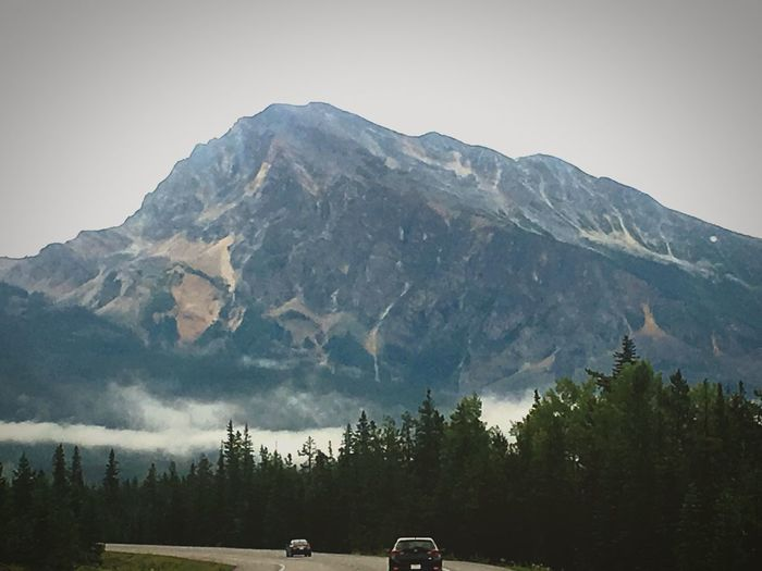 Alberta beauty Mountain Mountain Range Nature