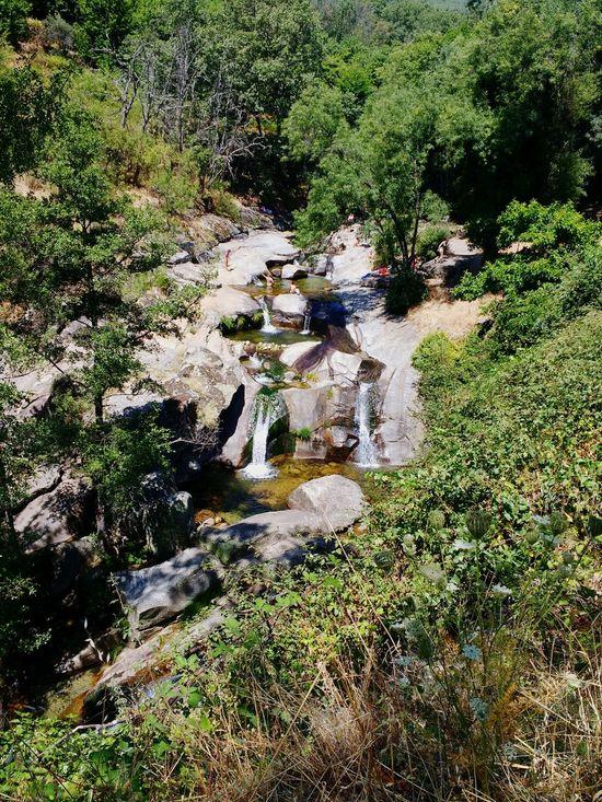 Rio Cascada Garganta Dia Extremadurafotos First Eyeem Photo