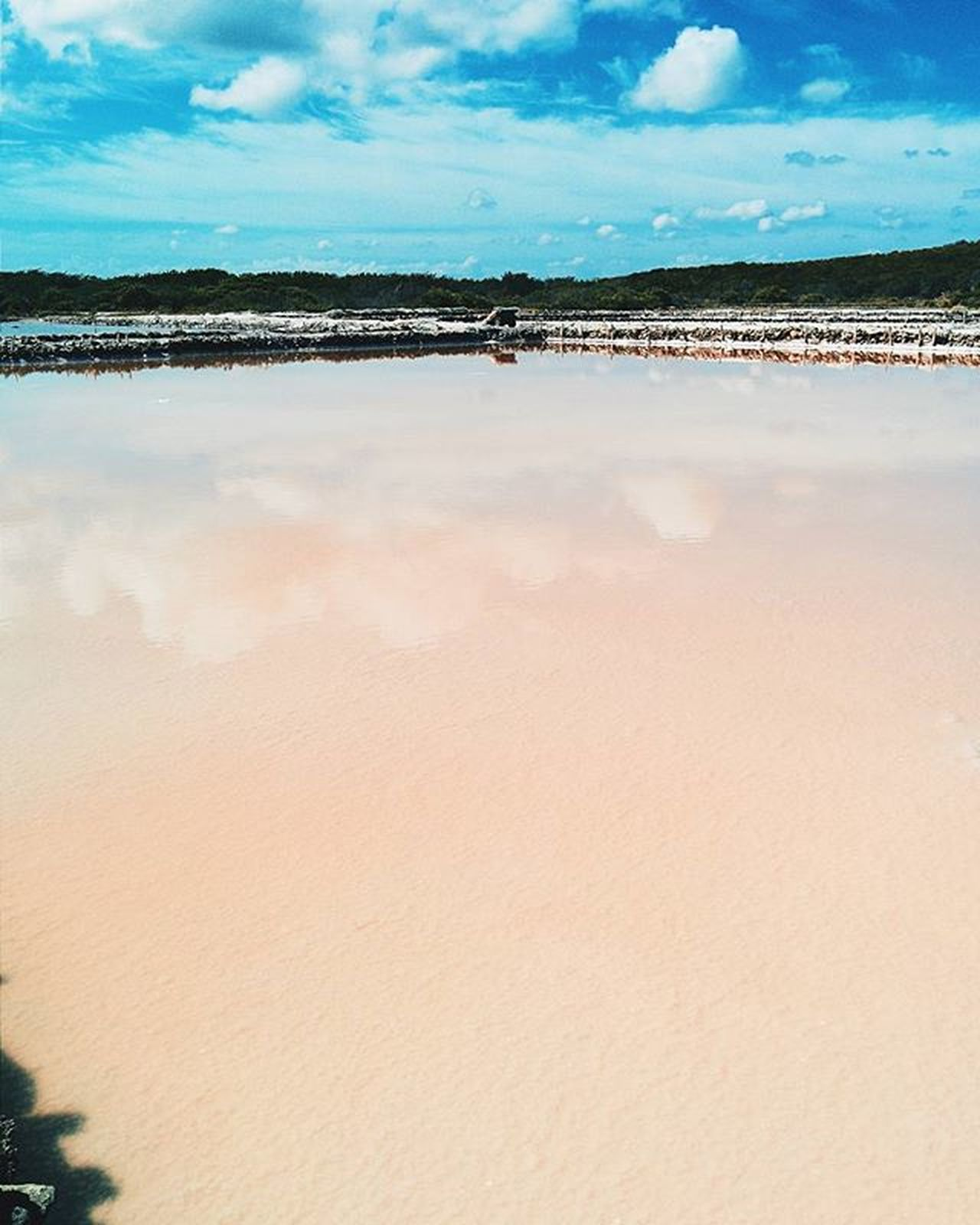 Reflejos salados 3. Montecristi IslaCabra Minasdesal Water Waterporn Reflection Colors Cloudporn Sky
