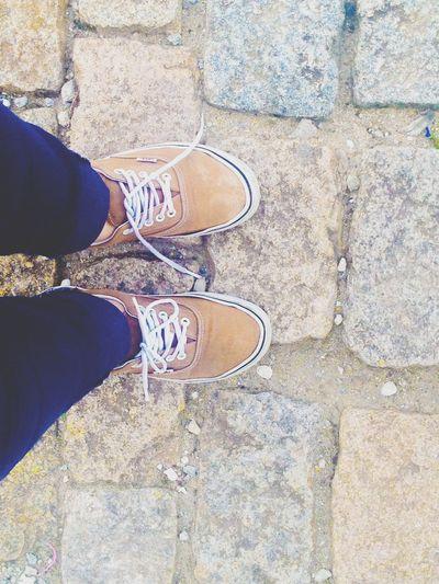 Caminhando e andando