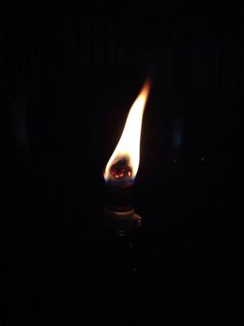 Maximum Closeness Flame Burning Heat - Temperature Glowing No People Close-up Black Background Darkroom Indoors  Diya - Oil Lamp