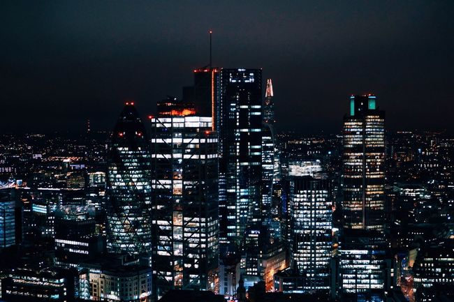 Cities At Night The Great Outdoors With Adobe Thearchitect-2016-eyeemawards Found On The Roll LONDON❤ London Skyline Skylines London_only Londonlife Londonthroughmycam London's Buildings The Shard, London Nightphotography Night Photography Night View Night Lights
