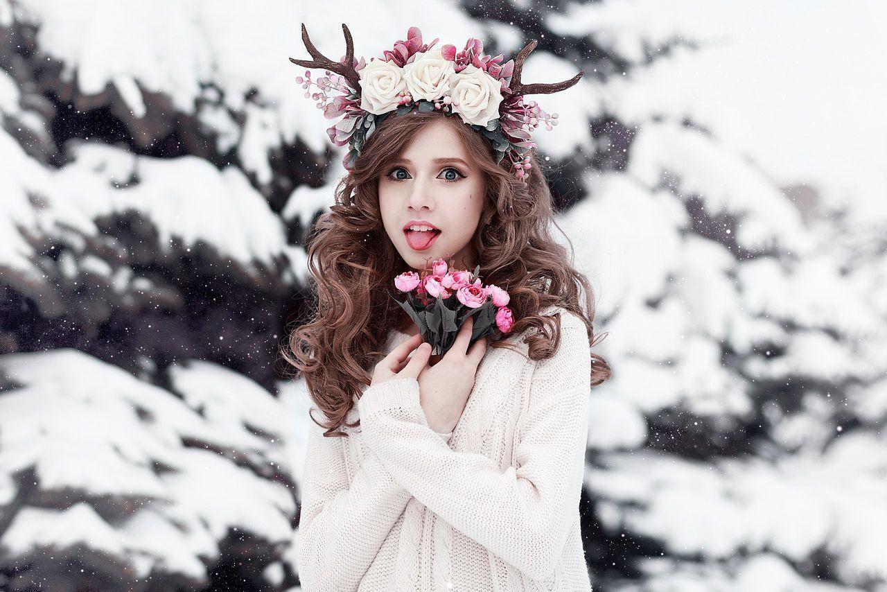 Beautiful stock photos of fairy,  18-19 Years,  Adult,  Animal Representation,  Antler