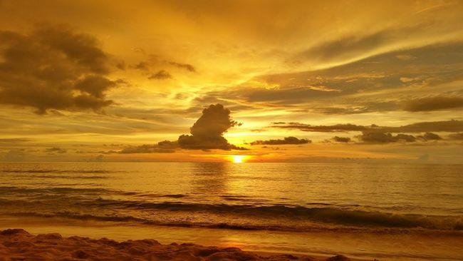 Phuket,Thailand Karon Beach Sunset Thailand