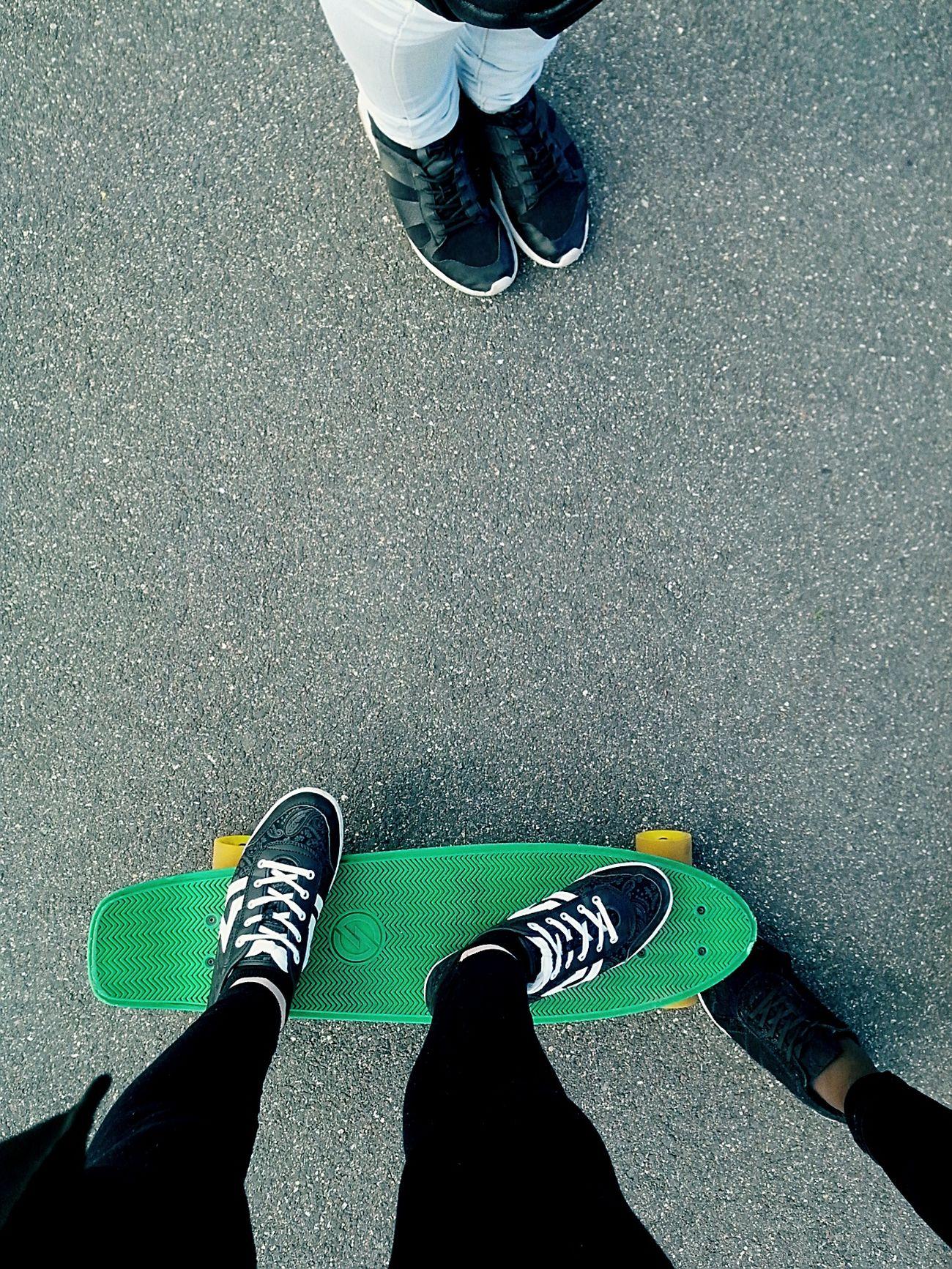Friends Skate Skateboarding WDGAF Sunny Street City