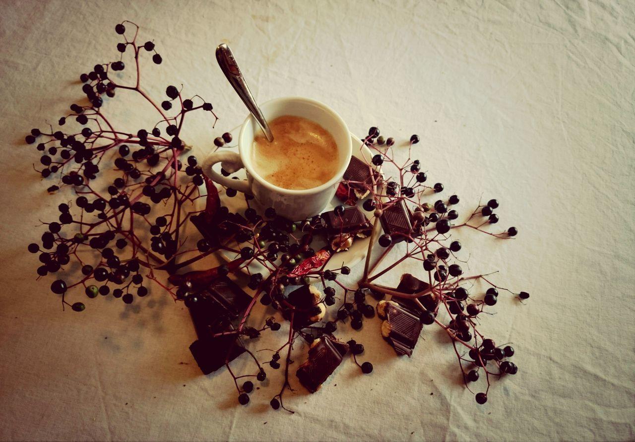 baies, chili et chocolat..