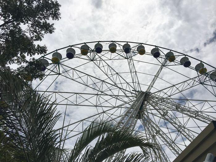 Amusement Park Cloud - Sky Built Structure No People Sky Day Ferris Wheel Amusement Park Ride Outdoors