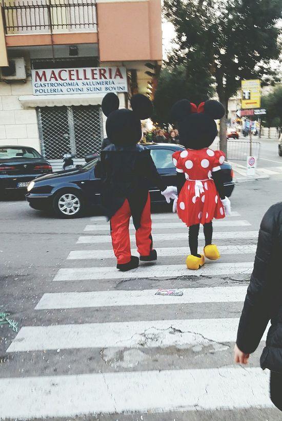 Colors Of Carnival Carnival Minnie Topolino  Mickey Mouse Carnevale Salento Gallipoli Lecce City Take My Hand Sfilata Jenuary Winter Gennaio  Festa Party