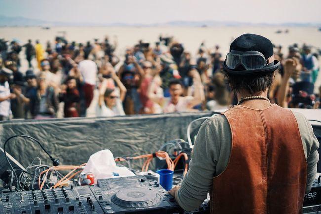 Be Svendsen morning set at Burning Man 2016 // Be Svendsen Burning Man Burning Man 2016 Togetherness