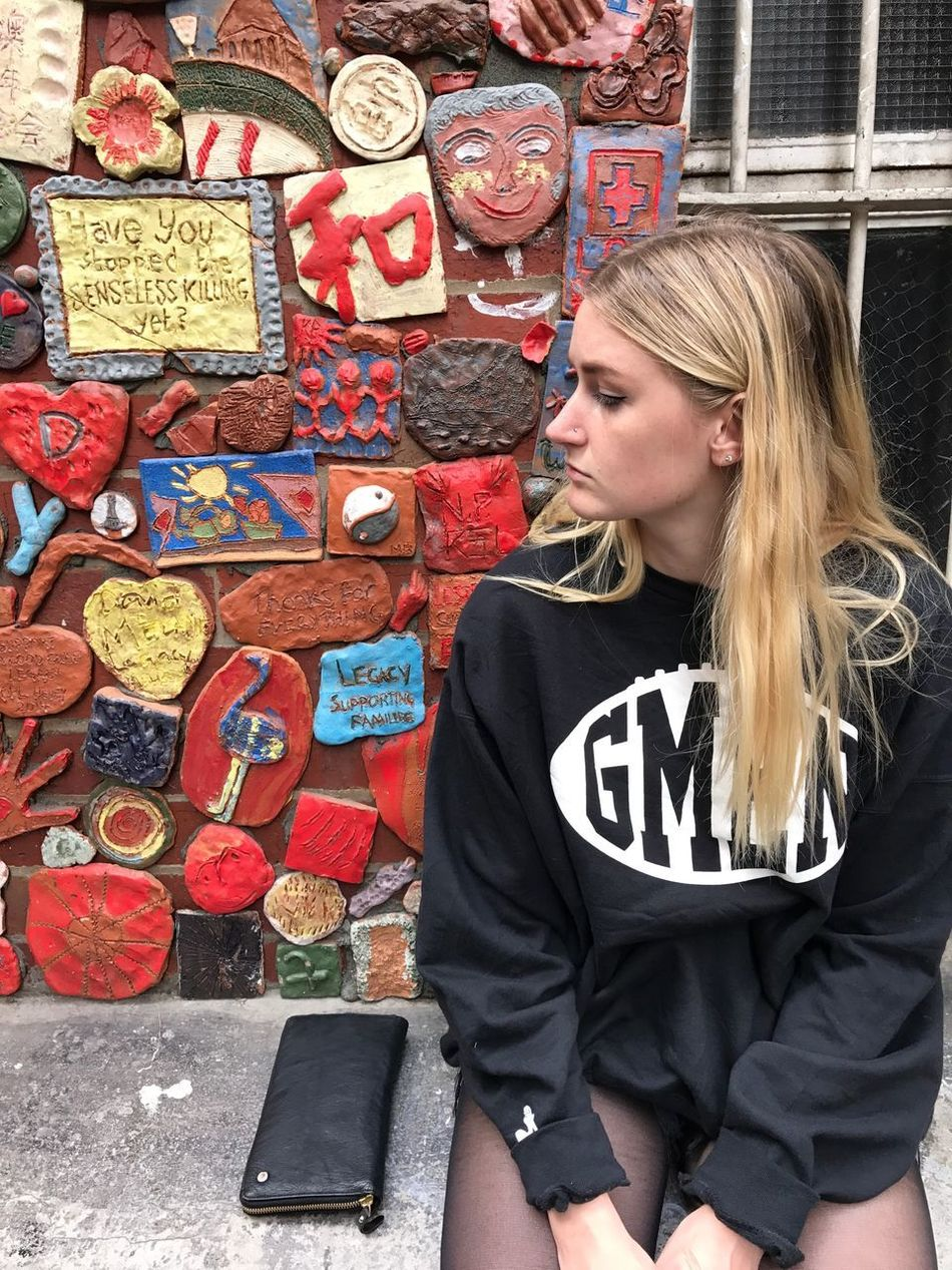 Art Is Everywhere Getty Images Blond Hair One Young Woman Only Young Women Streetphotography TheMinimals (less Edit Juxt Photography) Shootermag The Secret Spaces Street Mermaid Minimalist Architecture He Will Shelter You Under His Wings...