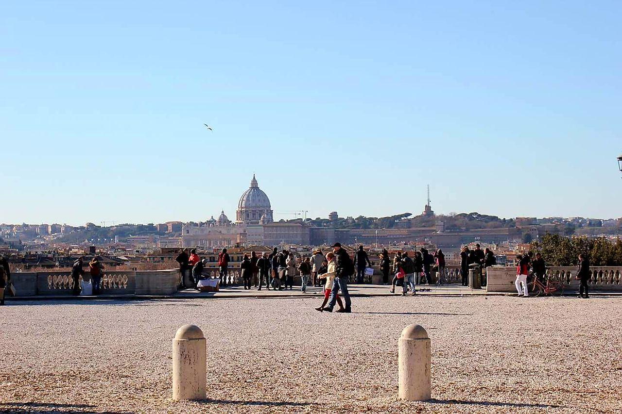 La città eterna! Roma Rome Italy Italia San Pietro In Vaticano Vaticano Vatican Pincio City Travel Destinations Tourist Sky Villa Borghese Adapted To The City