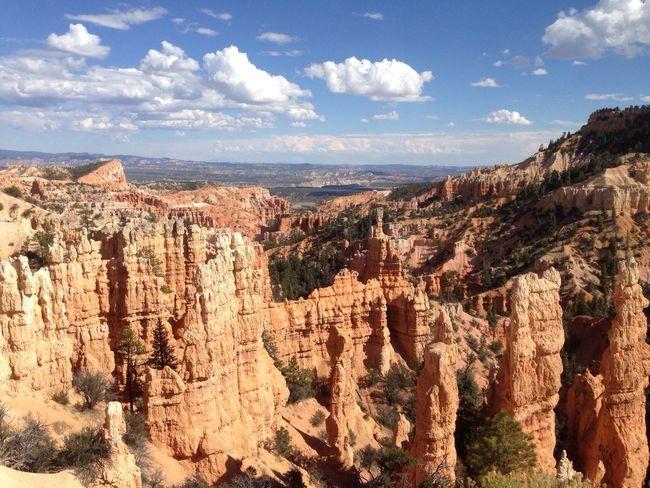 Canyon Utah Motorbike Trip Landscape