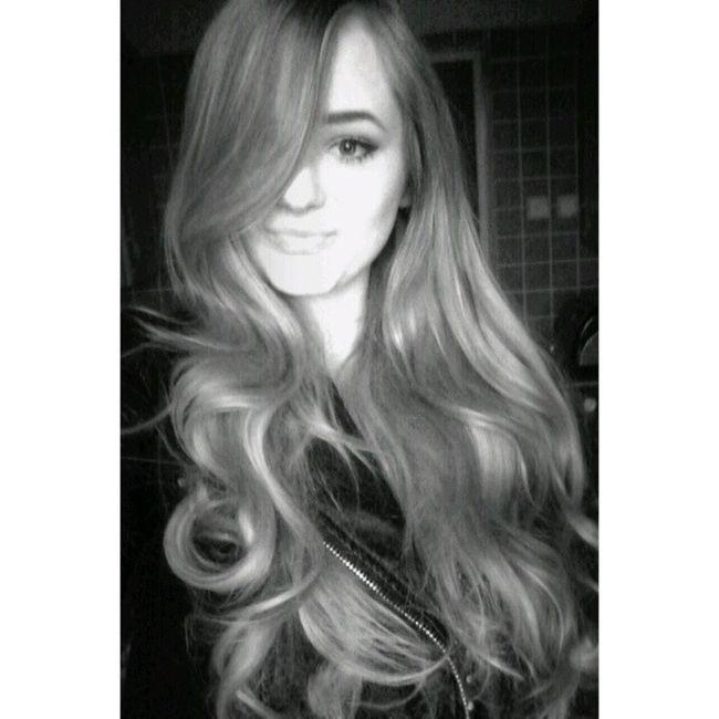 Blackandwhite Black &white Clarie Blond Girl Photo Long Hair