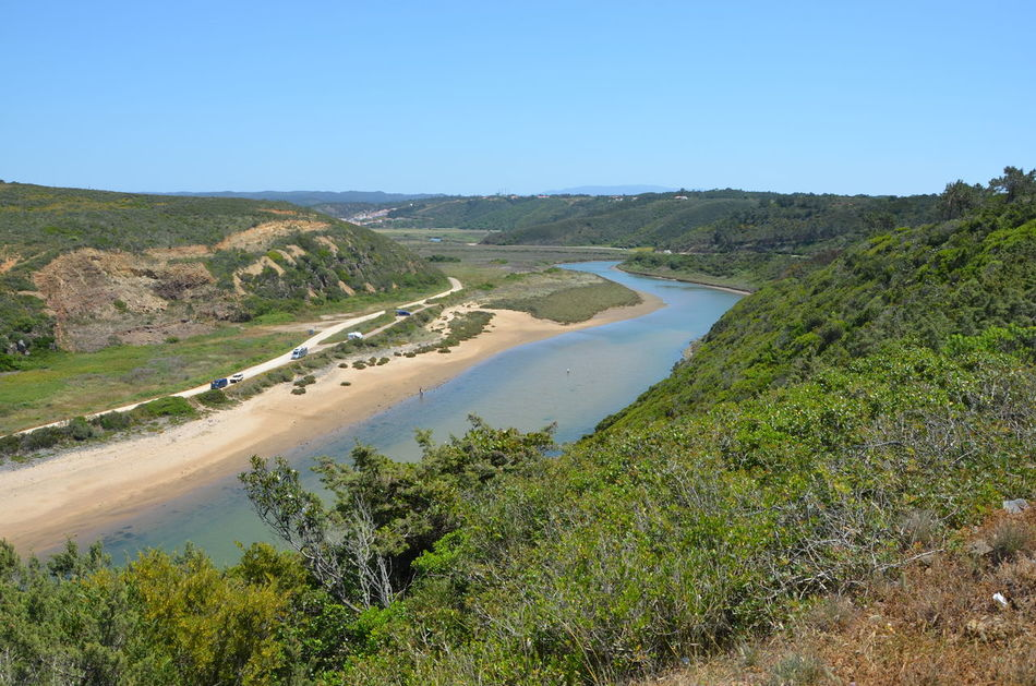 Algarve Beauty In Nature Blue Day Idyllic Nature No People Non-urban Scene Odeceixe Outdoors Portugal Remote Scenics Sky Tranquil Scene Tranquility