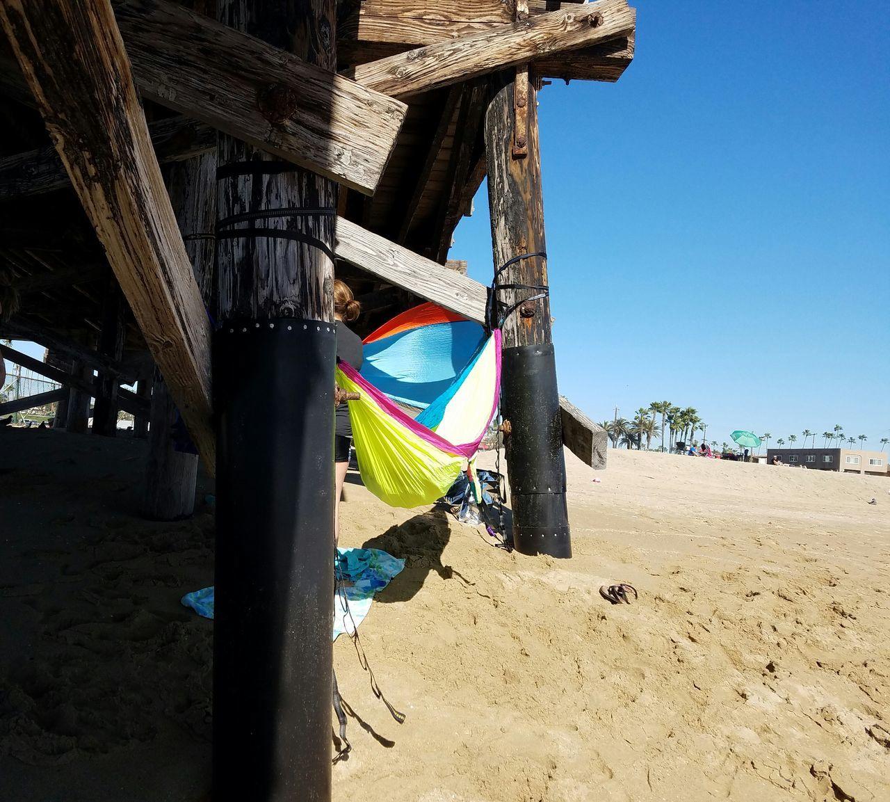Natural Light Sand Hammock Beach Multi Colored Outdoors EyeEm Best Shots Beauty In Nature Sand Fine Art Photography Copy Space Simplicity Shoreline Beach Backgrounds Meditation Restibg Ocean Simple Pier Nature
